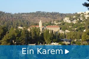 Ein Karem audio guide tour-man