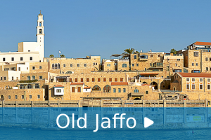 old jaffo audio guide tour man